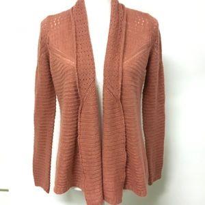 O'Neill blush pink swing cardigan sz XS
